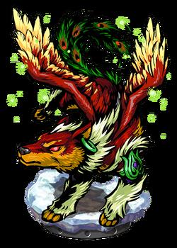 Simurgh, Winged Protector II Figure