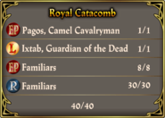 Catacombs Pact August 2015 Royal Familiars
