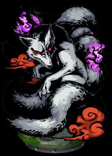 Nine-tailed Fox II Figure