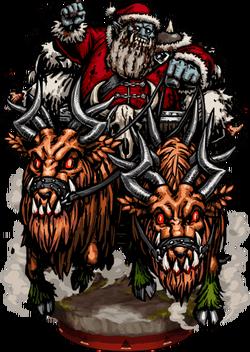 Santa, Flesh-Eater Figure