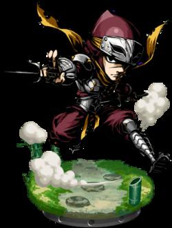 Master Ninja + Figure