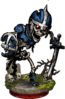 Skeleton Warrior II + Figure
