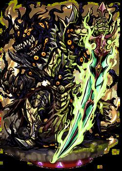 Hundred-eyed Warrior Figure