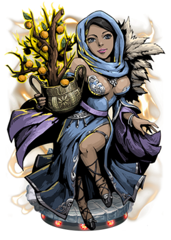 Idun, the Golden Apple Figure
