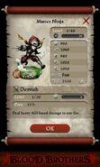 Master Ninja (base stats)