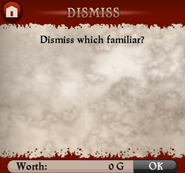 Dismiss Screen Empty