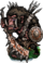 Galagos, Giant Ape Figure
