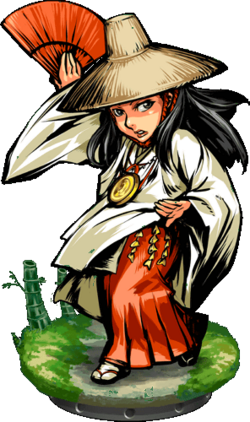 Okuni, Dancer Figure