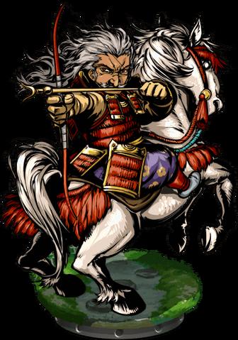 File:Tametomo, Master Archer II Figure.png