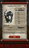 Lizardman Warrior II plus (base stats)