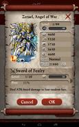 Zeruel, Angel of War