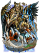 Lucan, Eagle Knight II Figure