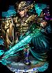 Melek, the Black Peacock II Figure