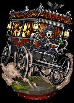 Ghost Carriage II Figure