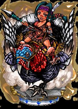 Benjamina, Turkey Rider Figure