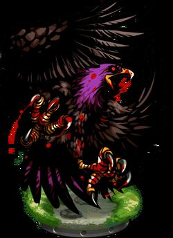 Man-eating Eagle II Figure