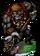 Coco, Gorilla Bandit Figure