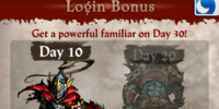 New Player Login Bonus