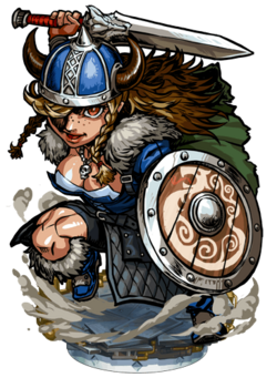 Palna, Viking Warrior Figure