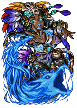 Hina, Flame Serpent Figure