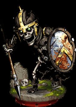 Skeleton Spearman Figure