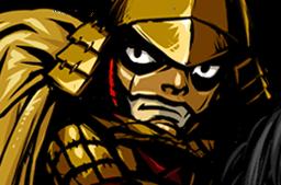 File:Yukimura, Kiba-Musha II Face.png
