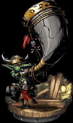 Goblin Hornblower II Figure