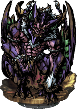 Olitiau, the Great Bat Figure