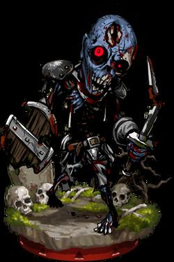 Wight Warrior II + Figure