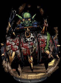 Goblin Spikeroller II Figure