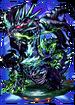 Emerald Dragon II Figure