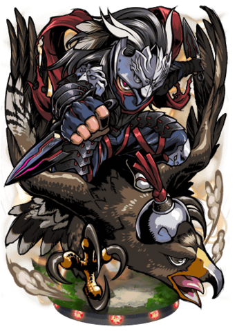 File:Danzo, Falcon Ninja Figure.png