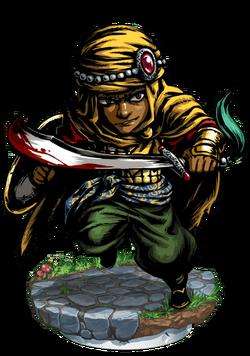 Alph, Desert Bounty Hunter II Figure