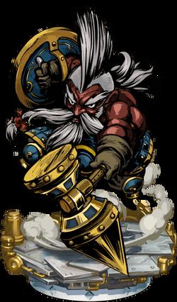 Dwarven Warrior II Figure