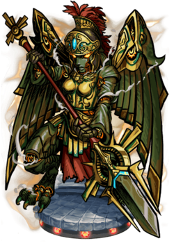 Minerva, Goddess of War Figure