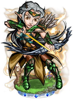 Diana, the Silver Bow Figure