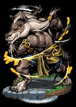 Isegrim, Wolfman Figure