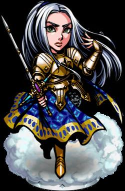 Jeanne, Knight Templar II Figure