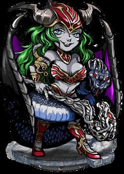 Lahamu, Royal Viper Figure