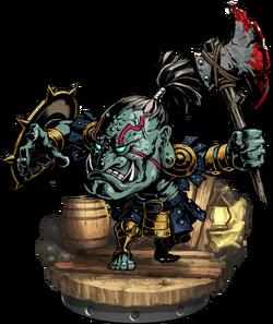 Orcish Warrior II Figure