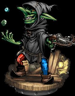 Goblin Gambler + Figure
