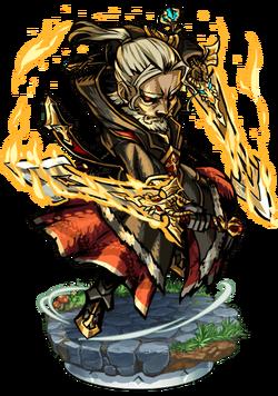 Wynde, Dragonslayer Figure