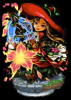 Phlox, Firebloom Witch II Figure