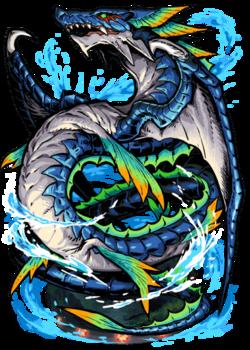 Sea Serpent Figure