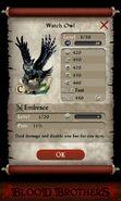 Watch Owl (base stats)
