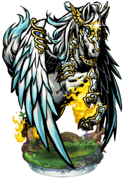 Pegasus, the Light Divine II Figure