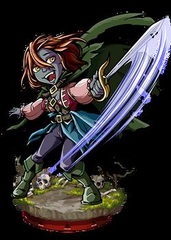 Louise, Twilight Swordswoman Figure
