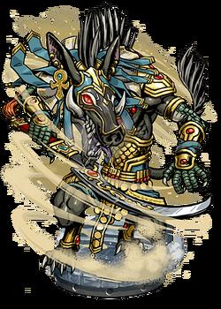 Set, God of the Sands Figure