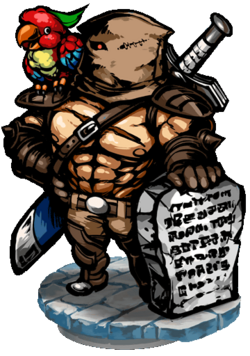 Belavus, the Judgement Figure