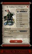 Sir Galahad, Road Knight II (base stats)